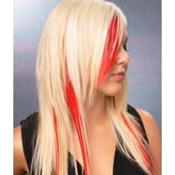 Clip in pramienok - REMY 100% ľudské vlasy – červená