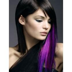 Clip in pramienok - REMY 100% ľudské vlasy – fialová