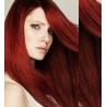 Clip in vlasy 43cm 100% lidské - EXTRA HUSTÉ 100g - měděná