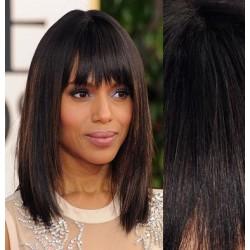 Clip in ofina - REMY 100% ľudské vlasy – prírodná čierna